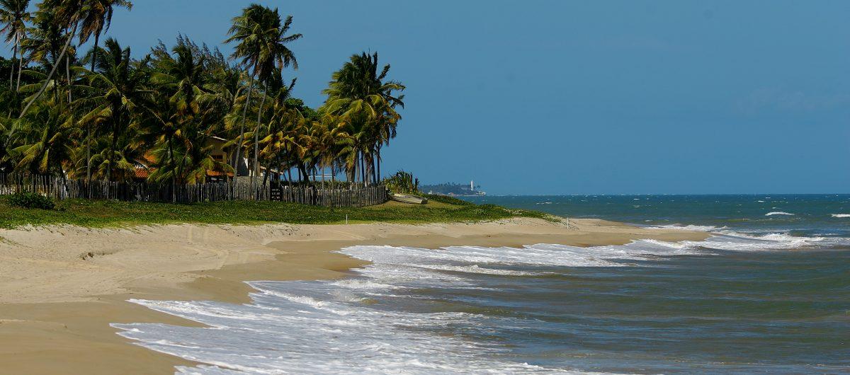 Praia próxima a Pousada Villa Maeva Itacimirim